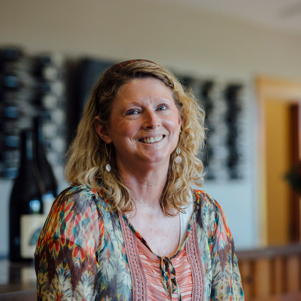 Diane Hutchinson - Wine Educator & Tasting Room Lead