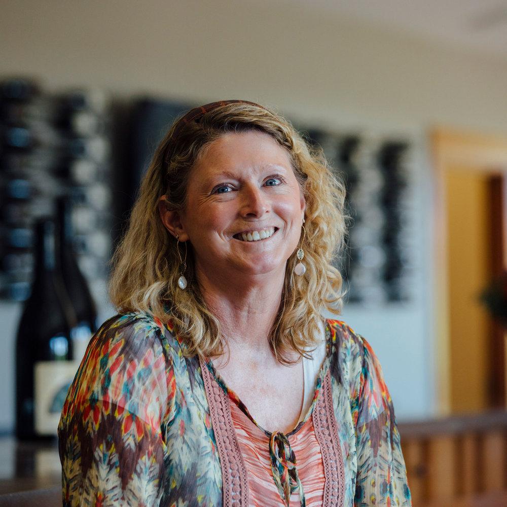 Diane Hutchinson - Wine Educator & Tasting Room Lead