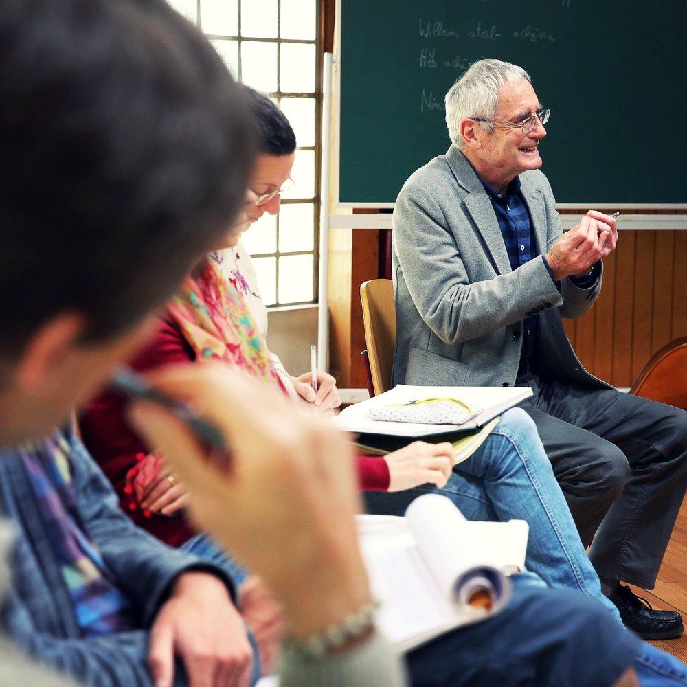 La nature humaine - « La Nature humaine » est le cours dispensé à Stuttgart en 1919 par Rudolf Steiner aux futurs enseignants de l'école Waldorf. Il s'agit en fait d'une méthode pour saisir la nature humaine dans sa globalité et pouvoir travailler de mieux en mieux avec elle, et non d'une somme de connaissances que l'on pourrait acquérir et appliquer directement.