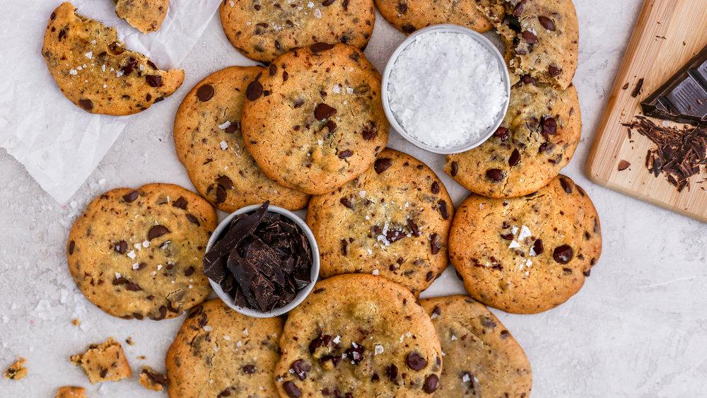 Mediterranean Style Chocolate Chip Cookies