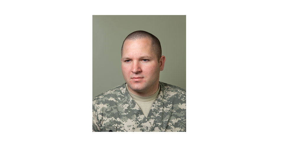 """SPC Michael Young,Mortuary Affairs Specialist  """"The most challenging part of the job is to separate yourself from the fact that another soldier was lost, and to be able to complete the mission and get them home to their loved ones."""""""