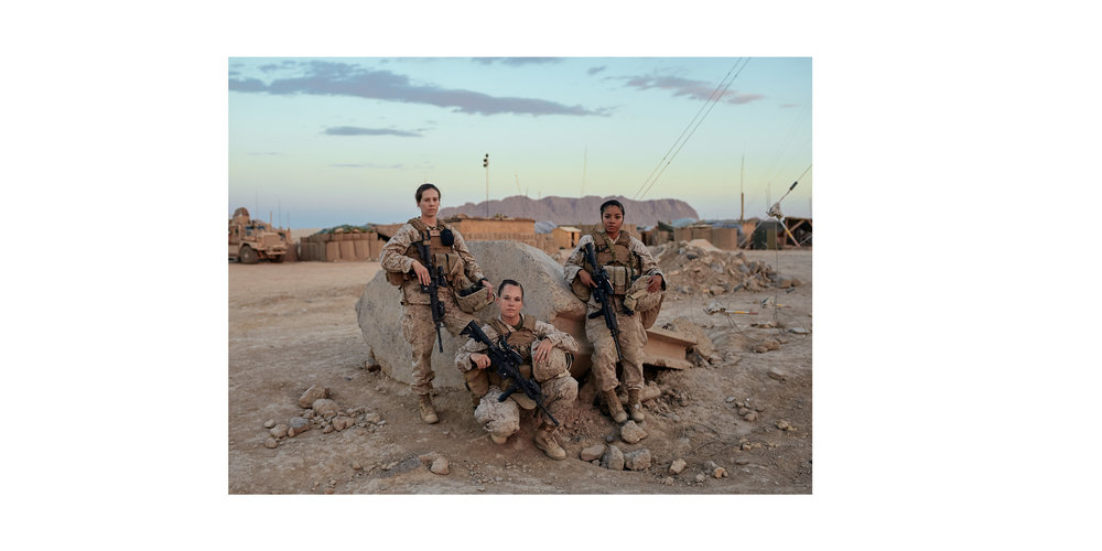 """U.S. Marines Female Engagement Team in Afghanistan –Leon Panetta's (former director of the CIA) memoir """"Worthy Fights"""""""