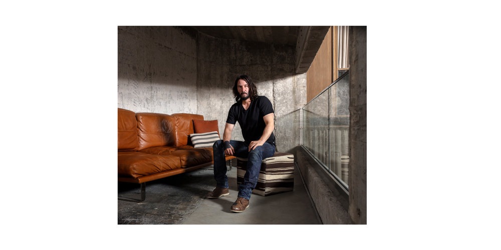 Keanu Reeves - T: THE NYT STYLE MAGAZINE