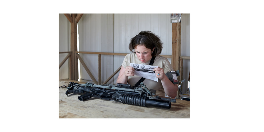 Weapon Maintenance, Kandahar, Afghanistan, from the series 'The Thing About Remembering'