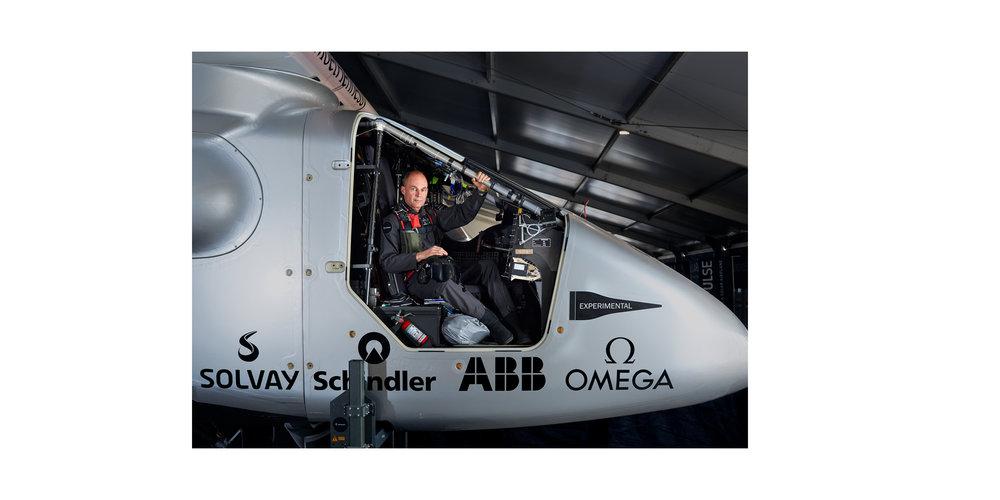 Bertrand Piccard, Initiator, Chairman & Pilot, Solar Impulse - NATIONAL GEOGRAPHIC