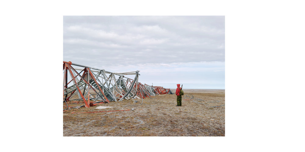 Deactivated DEW Line Site (1), King William Island, from the series 'Arctic Front'