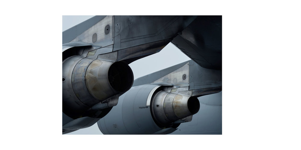 Canadian Armed Forces C-17 Transport Aircraft, Rankin Inlet, from the series 'Arctic Front'