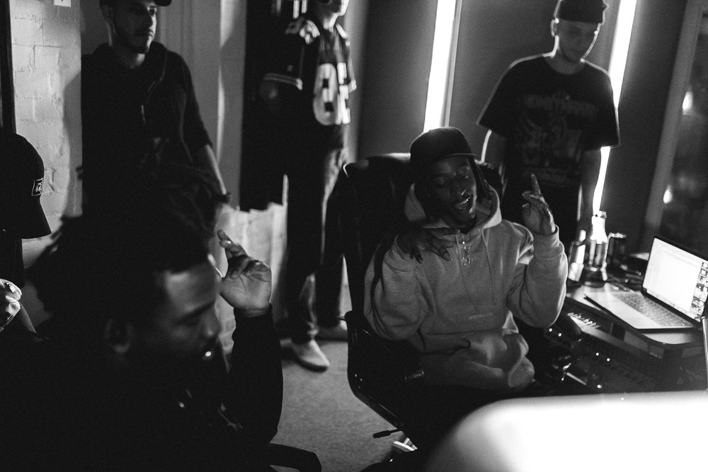 Had the privilege to get in the studio while Derek Wise x 88Camino were working on their debut EP 88Glam. -