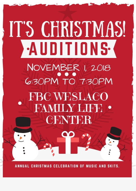 It's Christmas Auditions.jpg