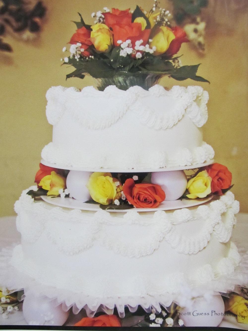 Wedding Cakes — Carol\'s Creations