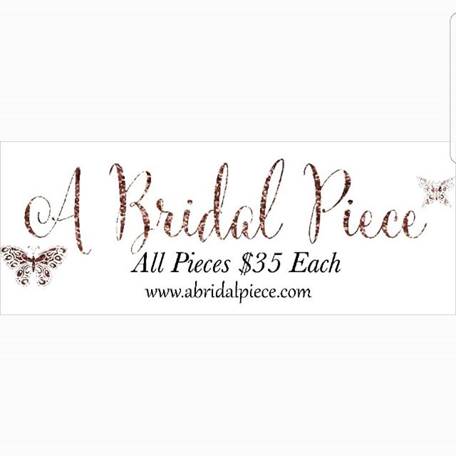 New site Alert!! New pieces added to the collection!! All Pieces $35!!! #bridal #hairaccessories #wedding #bridalhair