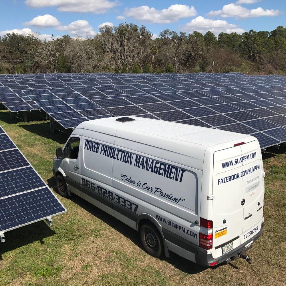 Power Production Management Solar Project
