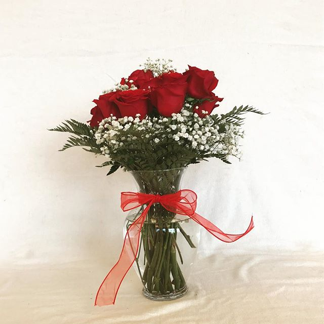 One dozen long stem roses, just $49.99!