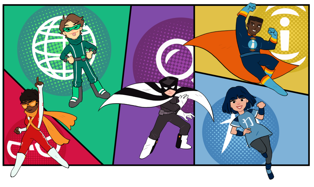 Media Literacy Education - Fake News? No problem. Using established research and real life examples, we turn middle and high school students into media literacy superheroes.