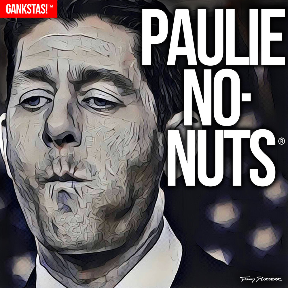 """ PAULIE NO-NUTS "" - 2017, digital print on acid-free paper, 14.5""x14.5"" The most craven, cowardly lickspittle in Washington, and that's saying something."