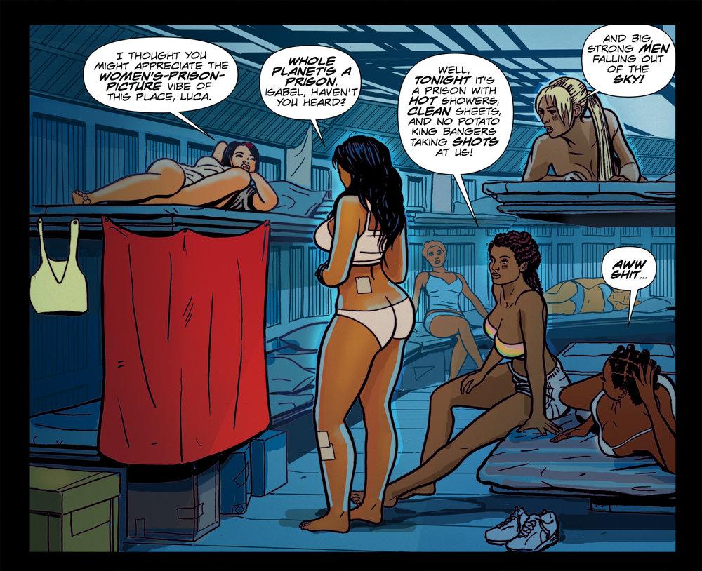 "A panel from ""Concrete Park Volume 2: R-E-S-P-E-C-T"" - page 35 - 2013"