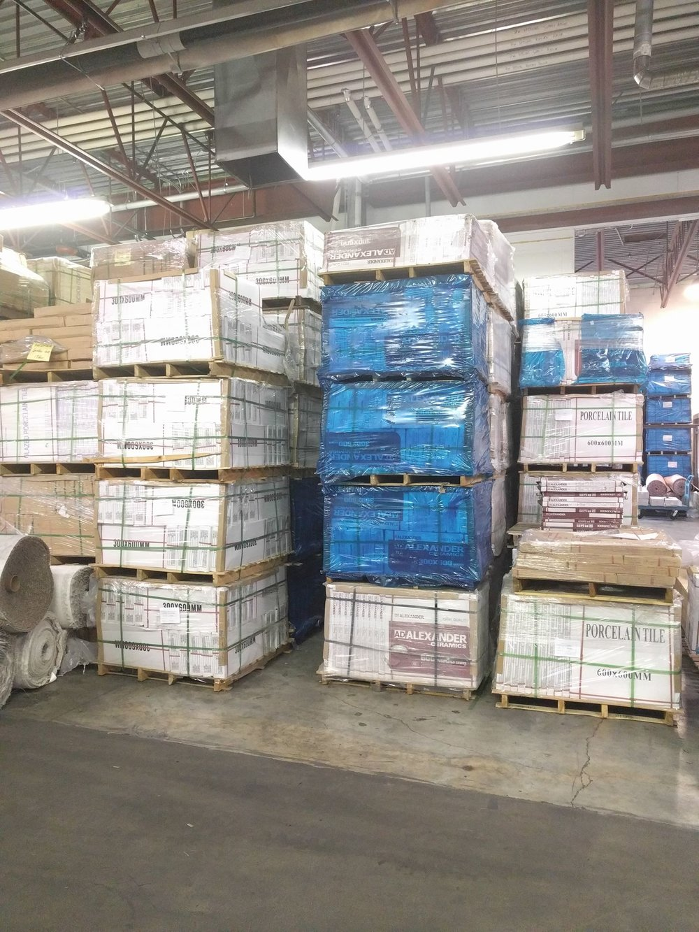 WAREHOUSE    Touchtone houses the biggest warehouse in all of Alberta. With large inventories a giant selection, and a dedicated warehouse team, you can select and bring home all your flooring product in the same day. We are also able to deliver your material as well.