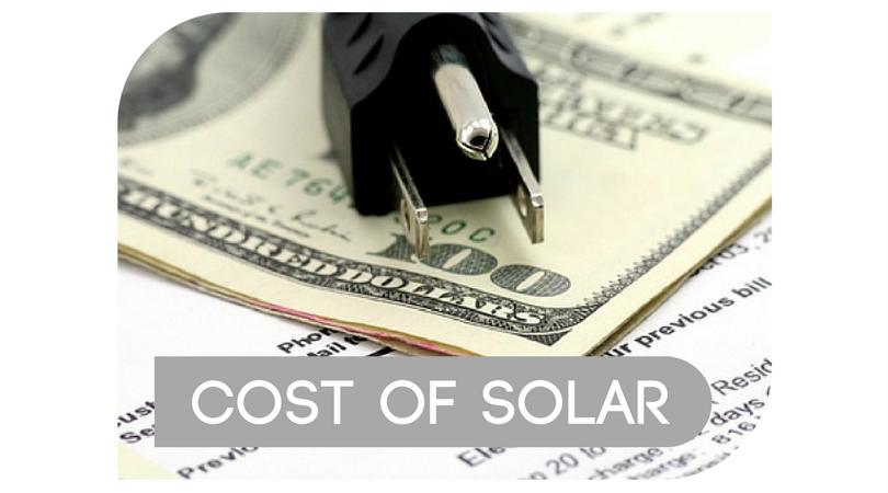 Cost of Solar in South Carolina