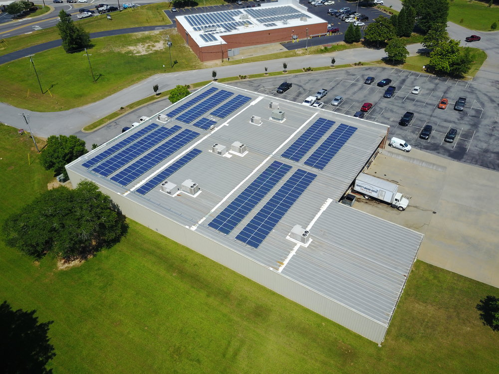 Commercial Solar in SC Poly Energy