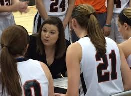Head Coach Katie Haitz in her inaugural season as the Lady Raiders head coach
