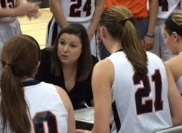 Head Coach Katie Haitz in her inaugural season as the Lady Raiders head coach