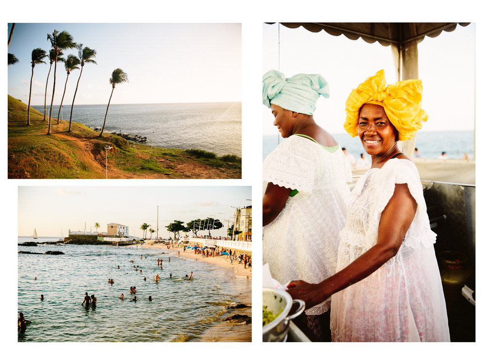3. The African influence is so much stronger in Bahia.