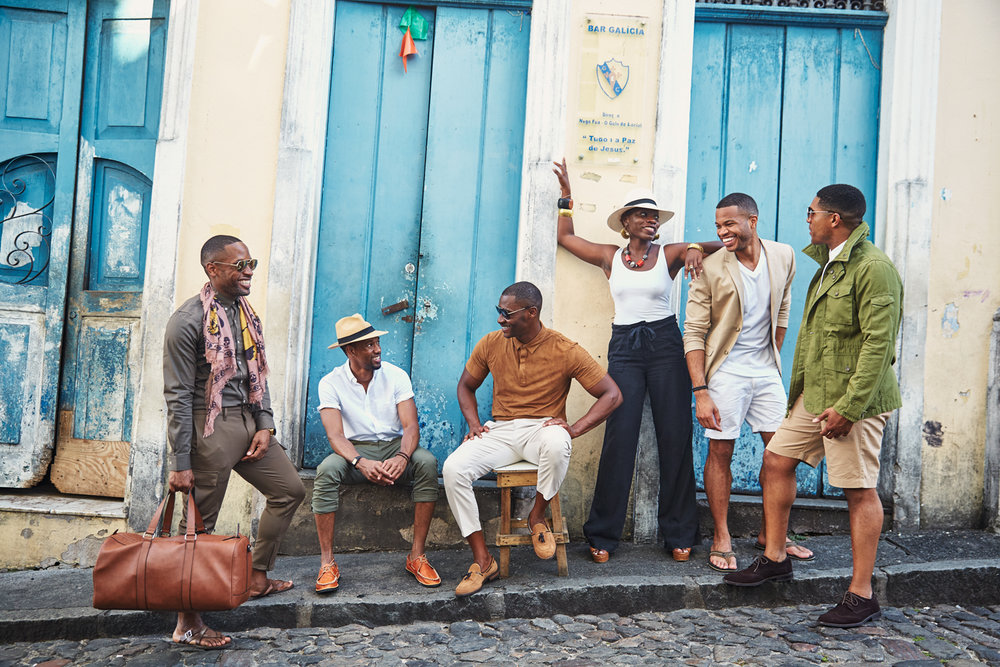 Salvador de Bahia, 2016.  Just another casual convo amongst friends.