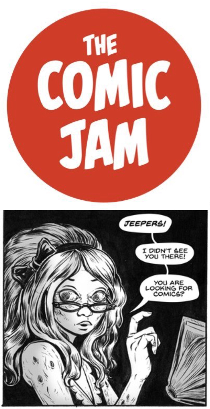 @TheComicJam (artwork by A.A. Miller)