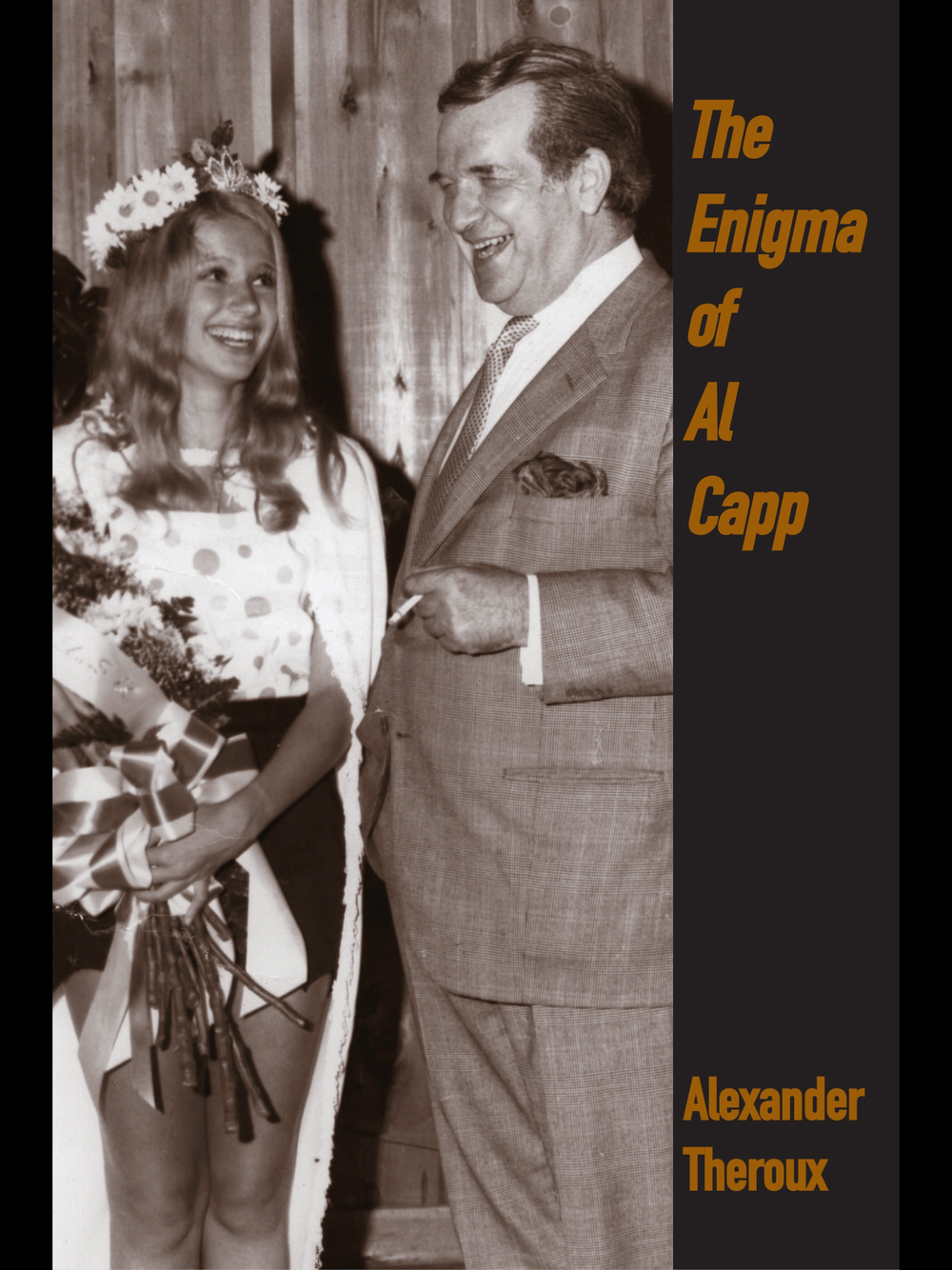 Above: The Enigma of Al Capp(image from Fantagraphics)
