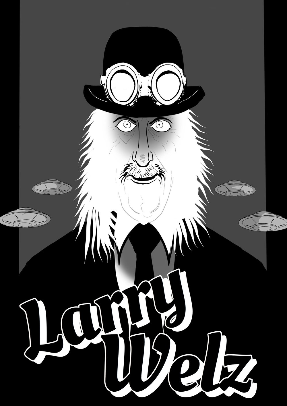 Above: Larry Welz by MagiciansHouse