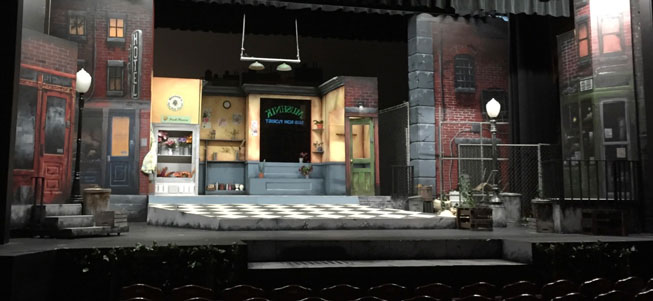 "Above: The Little Shop Of Horrors set that Welz describes as ""The Most Satisfying Thing I've Ever Done""  (images courtesy of Larry Welz)"