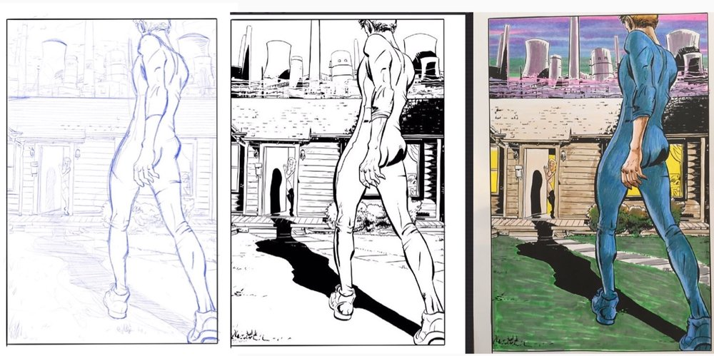 Above: Process images for Dildo Boy Origins from Doktor Geraldo and MagiciansHouse.