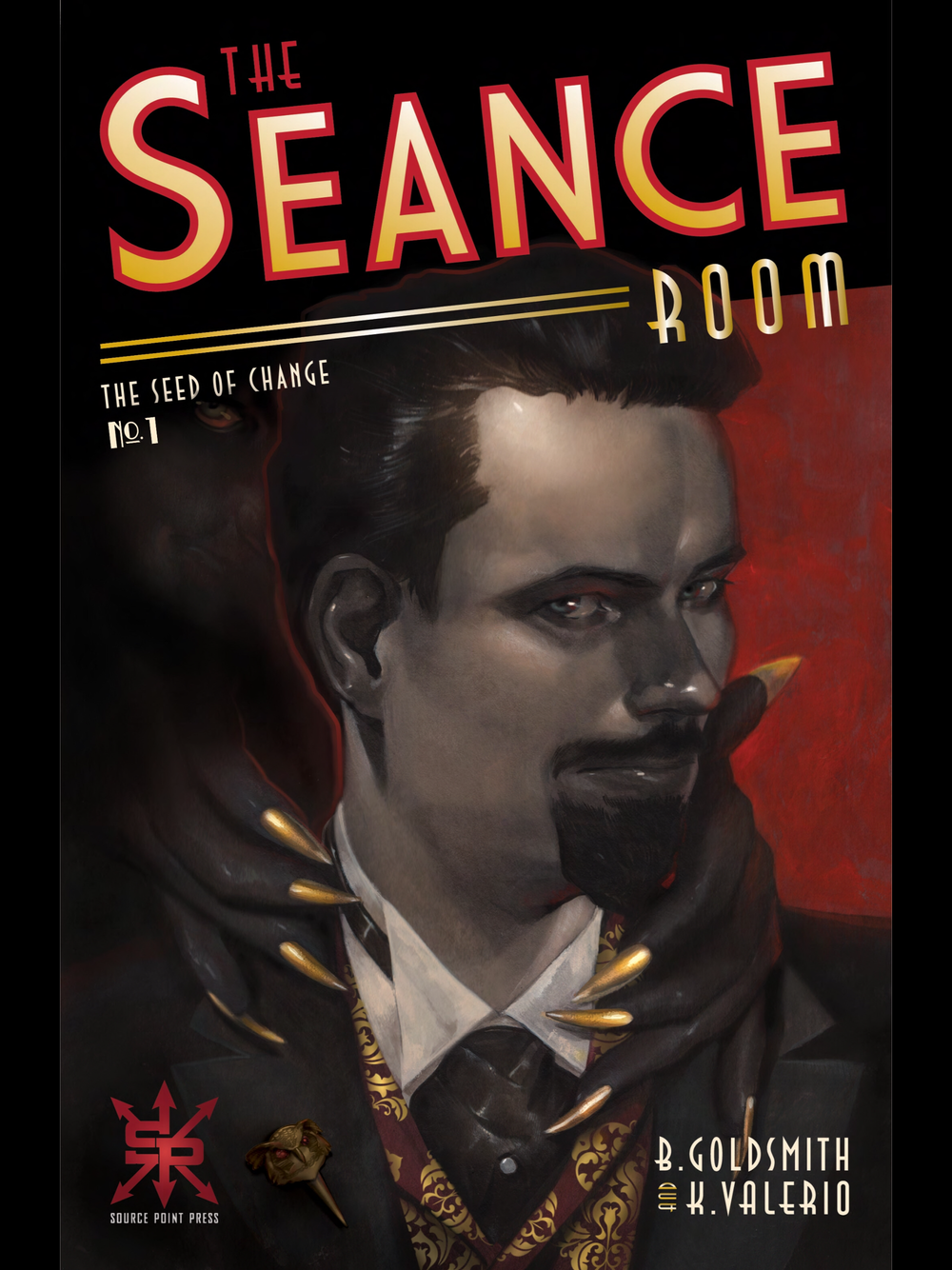 Above: Cover of Seance Room available for purchase here... www.comixology.com
