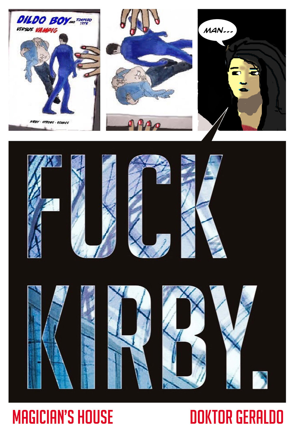 Above: Cover of FUCK KIRBY.
