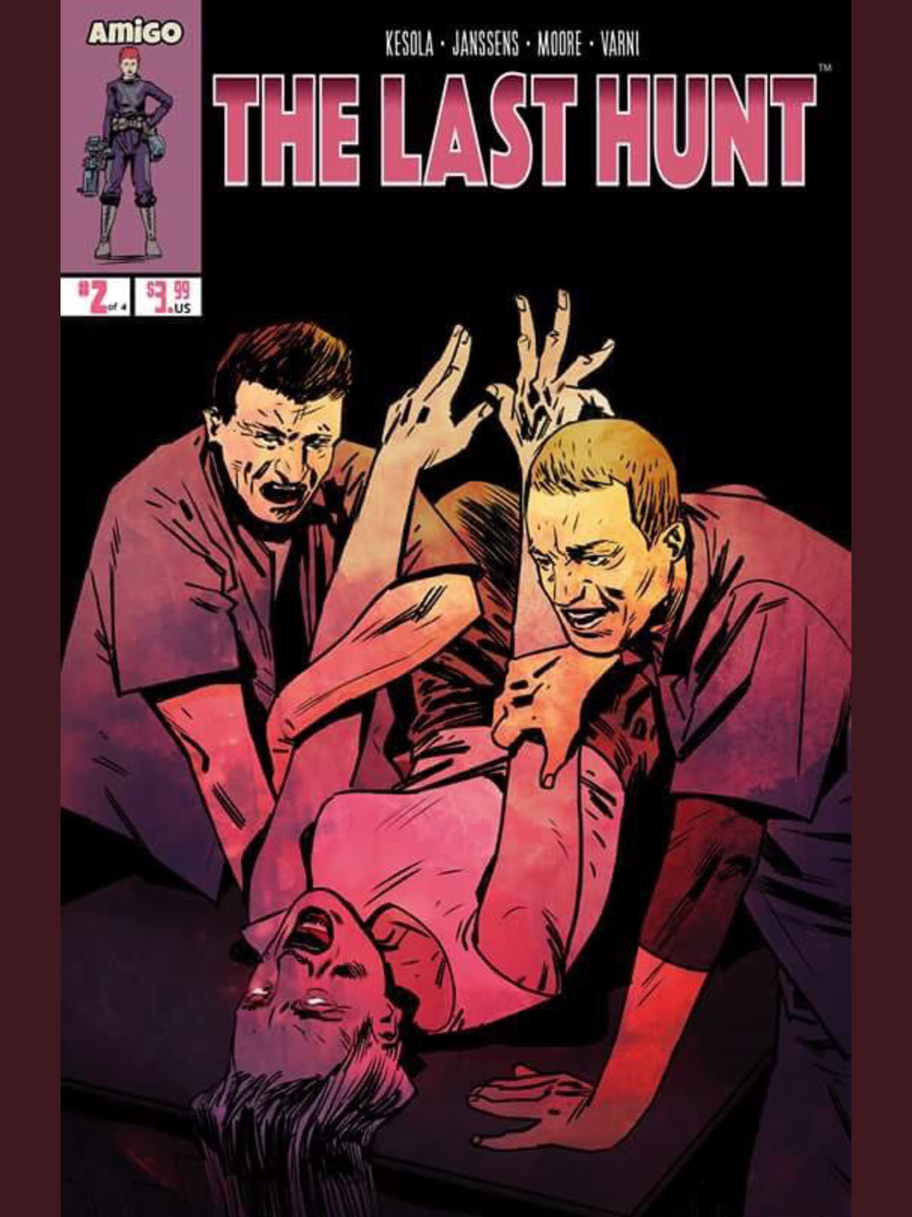 Above: The Last Hunt from writer Hannu Kesola. It's not the current issue, but I just love the image of the cover.