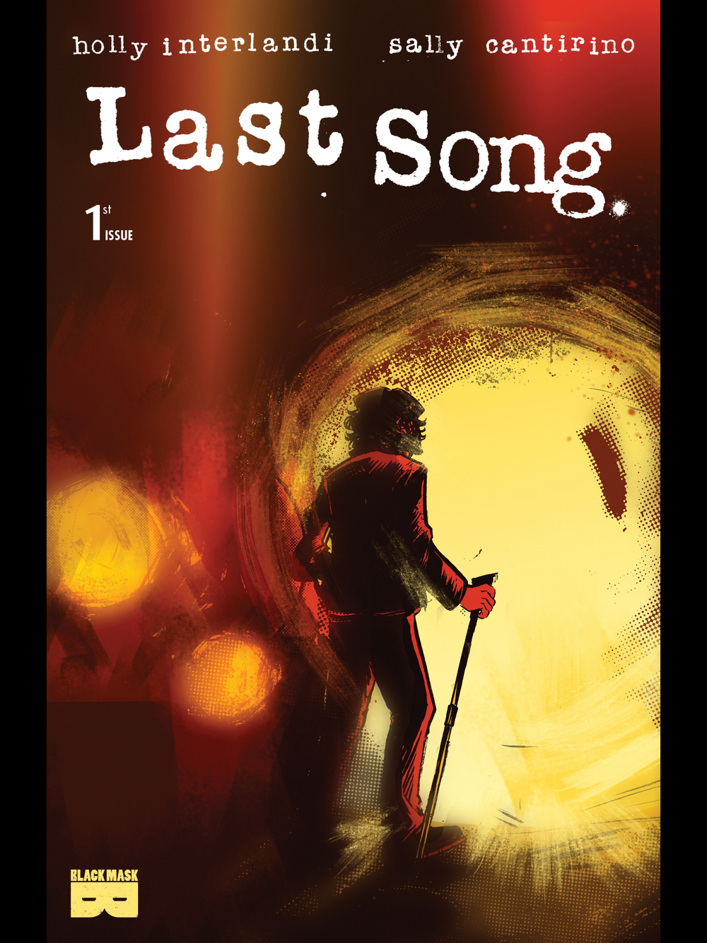 Above: Cover of Last Song #1from Black Mask.