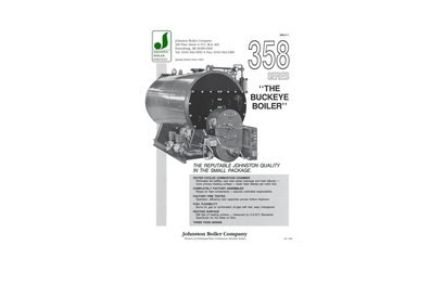 Johnston Boiler 358 Series Boiler