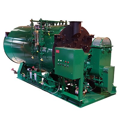 Every Johnston 4-pass maximizes effective heat transfer using a full five square feet of heating surface per BHP