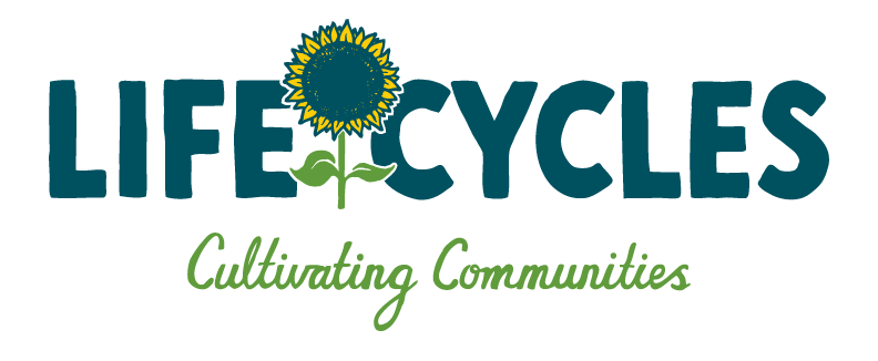 LifeCycles Projet Society is donating a workshop!  LifeCycles cultivates community health by connecting people with the food they eat and the land it comes from. We support people in gaining the knowledge, skills and resources needed to access, grow and preserve local food in ways that foster biodiversity and enhance our urban environment.