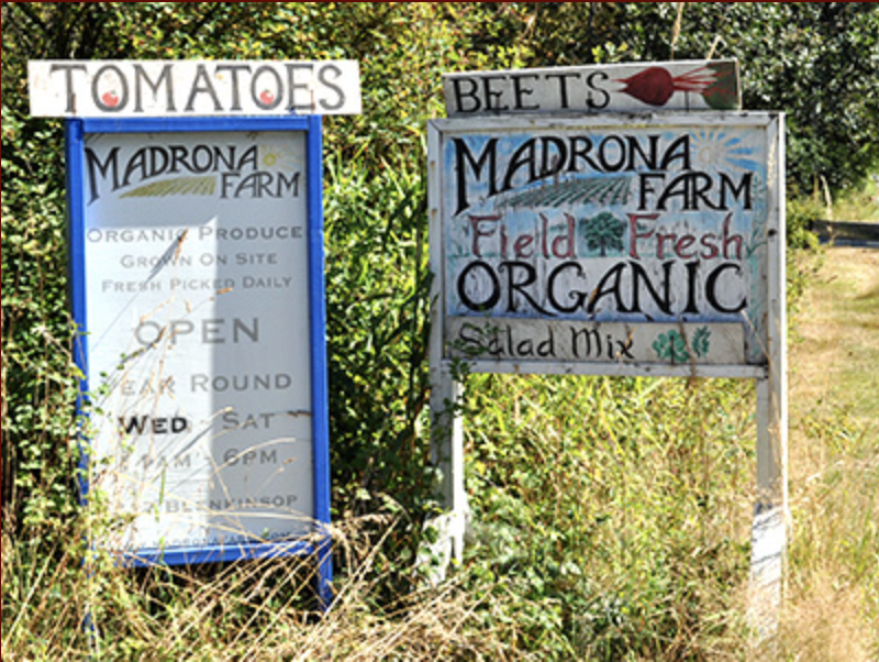 Madrona Farm will be donating 2 workshops!!!  Madrona farm is an organic 'urban' farm run by Nathalie Chambers and family!