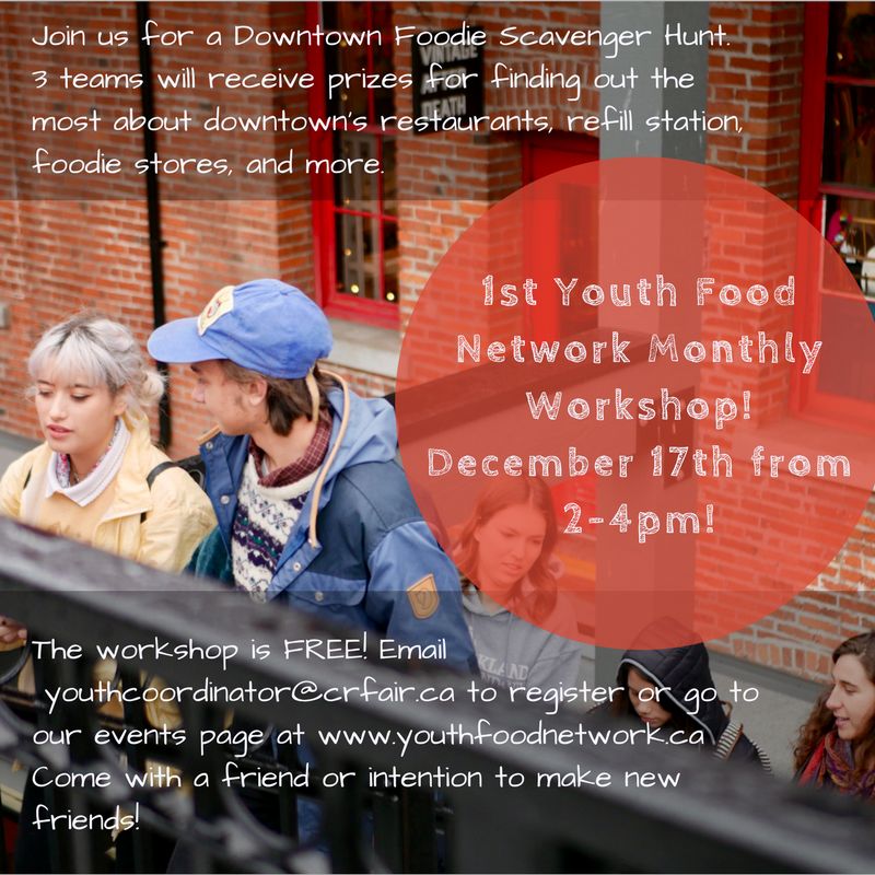 1st Youth Food Network Monthly Workshop!December 17th from 2-4pm!-2.png