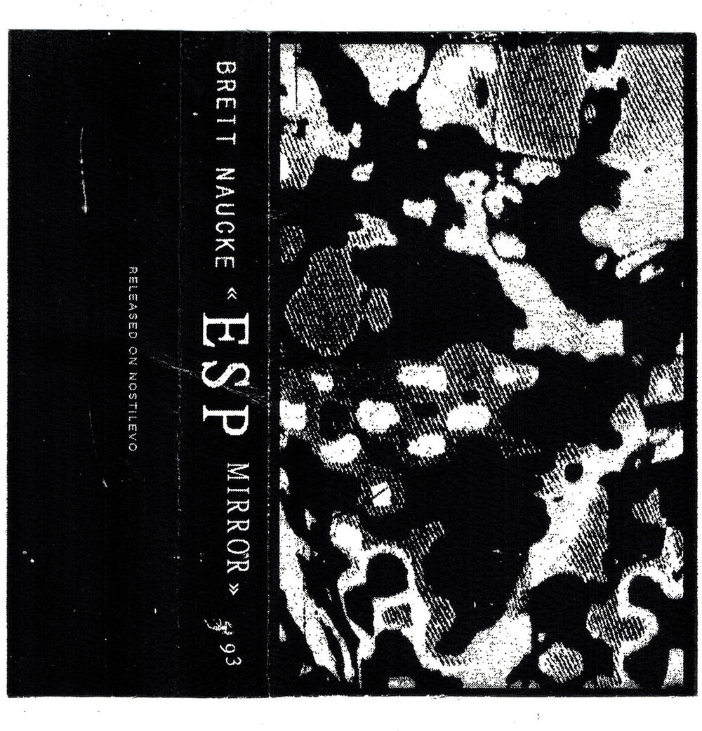 ESP Mirror - (Nostilevo) 2017Label DescriptionESP MIRROR is the unification of dual identities from Chicago-based composer Brett Naucke. A melodious brooding work of psychedelic synthesis and voice. Years in the making, Naucke depicts actions of melancholic sonic waves and downcast rhythms crashing thru frozen space and time, emerging crystalized.
