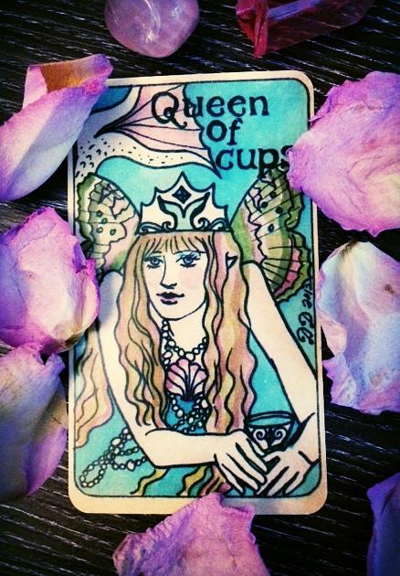 from  Dame Darcy 's Mermaid Tarot