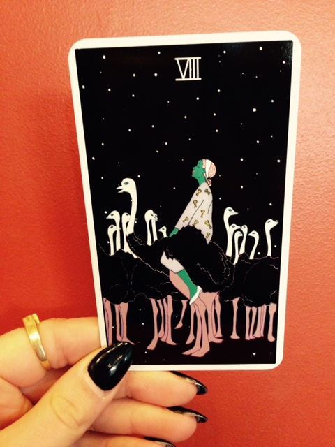 from the Moon Power Tarot by Charlie Quintero