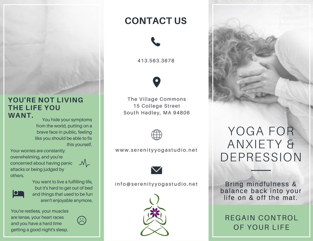 Yoga Studio Program Brochure