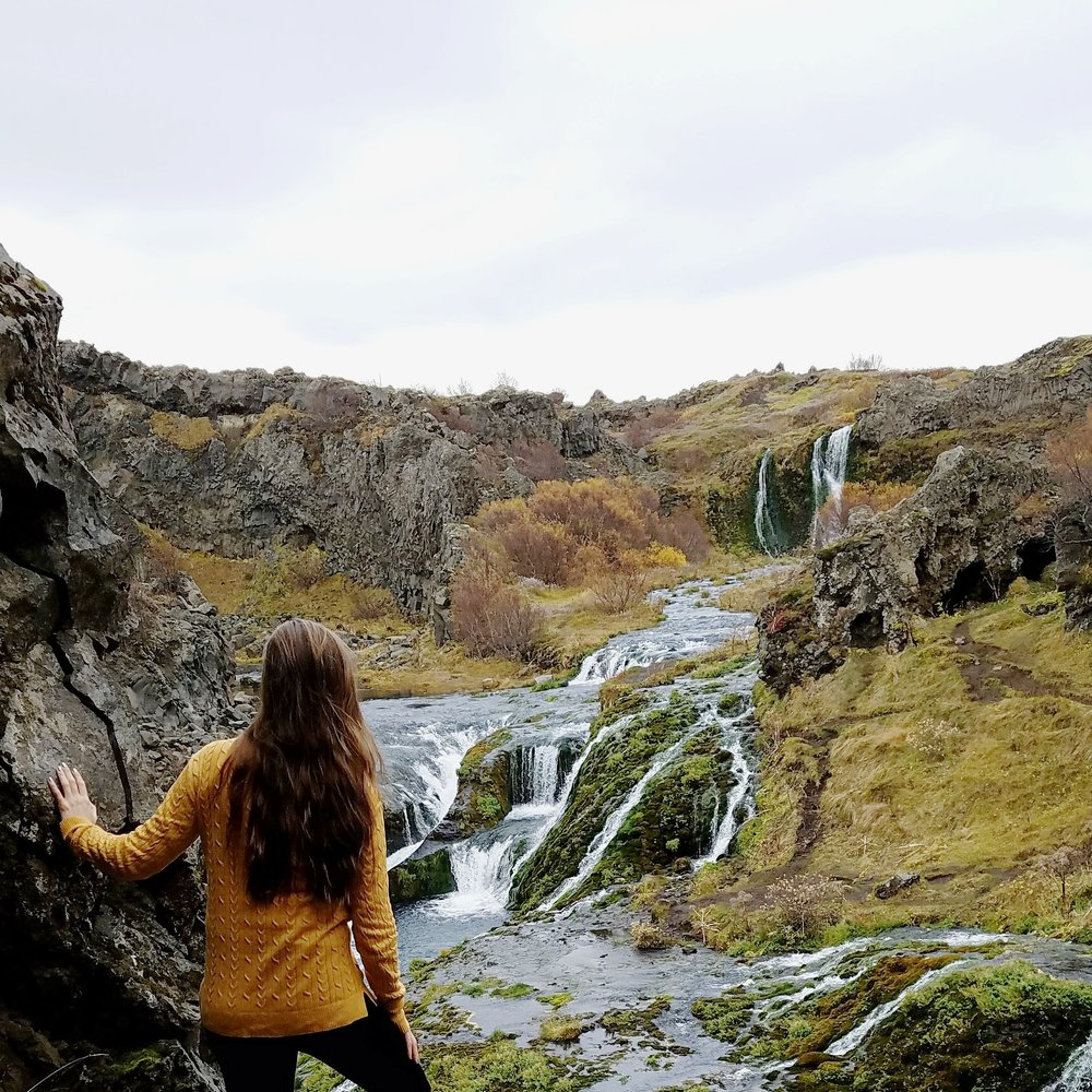 Iceland day trip to Haifoss, Gjain and Hjalparfoss
