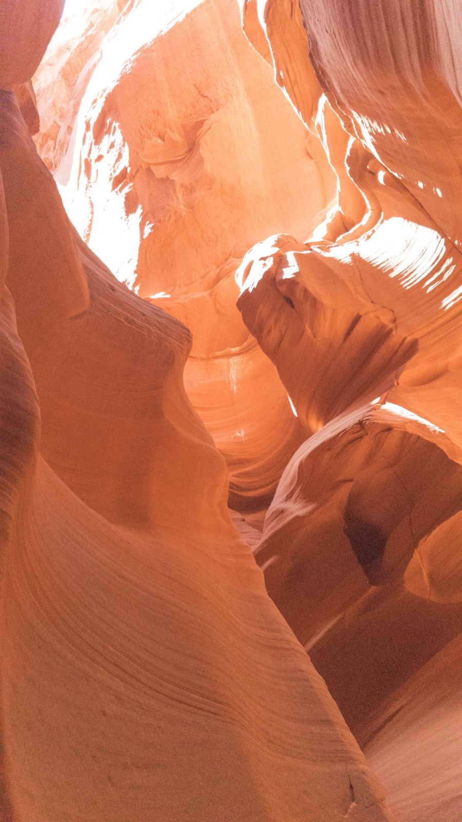 Antelope Canyon X is a quiet alternative to the popular Upper and Lower Antelope Canyon tours. Visiting Antelope Canyon, you'll see limestone canyon walls with lines in them that have been formed by erosion.
