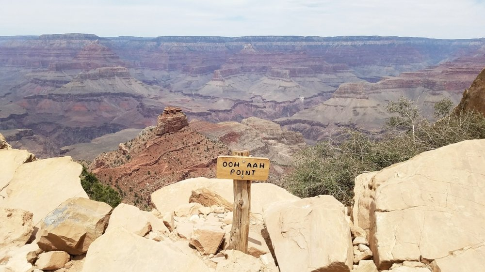 Hiking the South Kaibab Trial at the Grand Canyon is on of many things to do in northern Arizona.