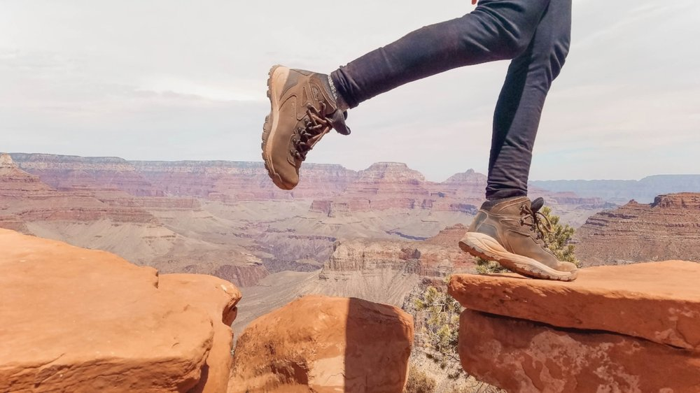 Utah and Arizona are full of fun things to do, from national parks to scenic roads. Hiking in the Grand Canyon should definitely be on your Arizona bucket list. #Arizona #Utah #Travel #Wanderlust