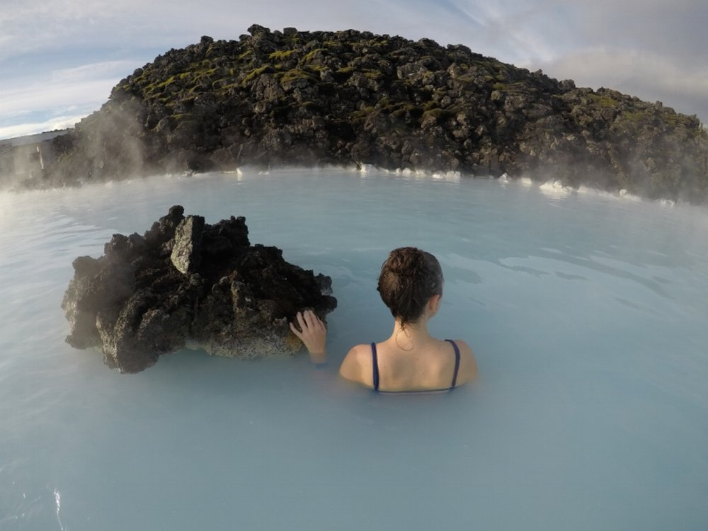 Add swimwear for visiting the Blue Lagoon to your Iceland packing list.